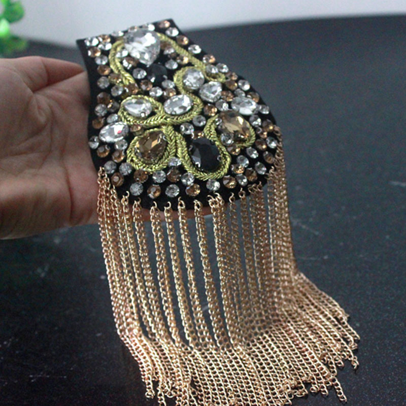 Nail Beads Inlaid Diamond Shoulder Badge Current Sackcloth Jacket Shoes Caps Bags Accessories Clothing Accessories Spot