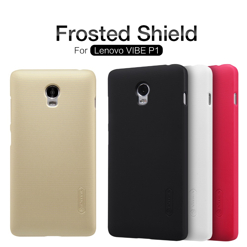 newest collection 29f40 8ceaa US $7.2 |newest Lenovo Vibe P1 case NILLKIN Super Frosted Shield back cover  case for Lenovo Vibe P1 with free screen protector on Aliexpress.com | ...