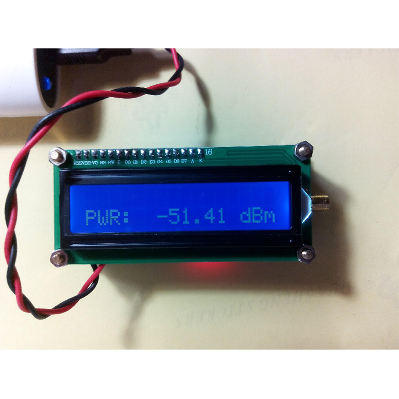 Simple RF Power Meter GL2700, Space Broadband Signal Detector 5kHz~2700mHz  50 ohms
