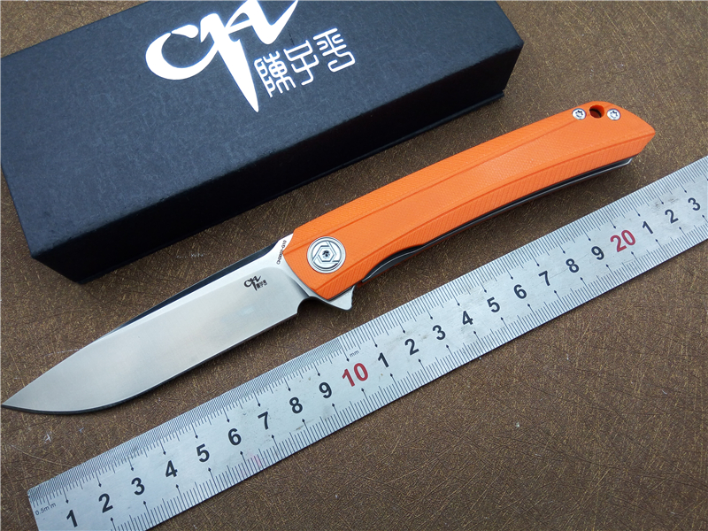 Brand CH CH3002-G folding knife D2 Blade flipper ball bearings G10 handle camping pocket knives EDC Tool outdoor knife цены
