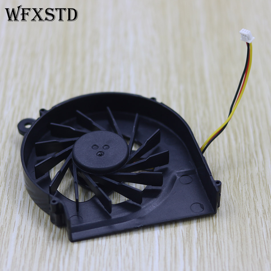 New 3pins CPU Cooling Fan For HP CQ42 G42 G4-1000 CQ62 G6-1000 DC5V  3pins CPU Cooler Fan 4 wires laptops replacements cpu cooling fan computer components fans cooler fit for hp cq42 g4 g6 series laptops p20