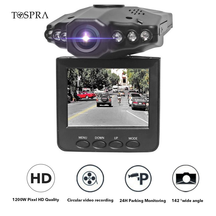DVR Camera Cam-Recorder Dashboard Registrator-Loop Full-1080p-Screen