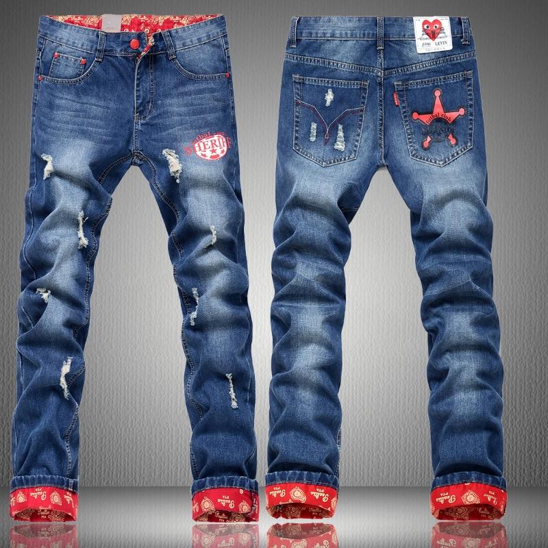 Сделать, джинсы с прикольным рисунком