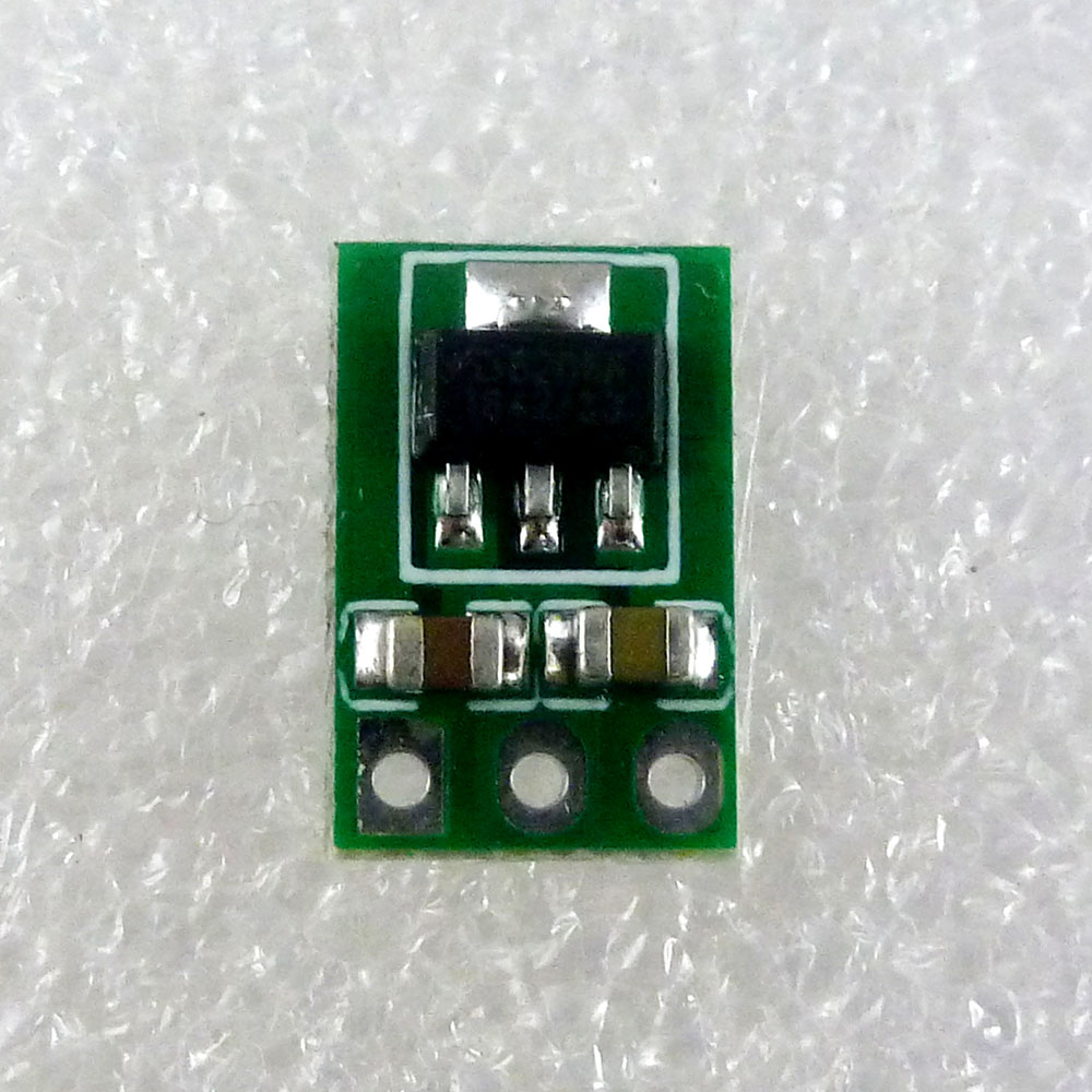 Image 2 - 2x Ultra light Ultra thin DC 3.7V 4.2V 4.5V 5V to 3.3V Step Down Buck Regulator LDO Module repl AMS1117 3.3 Power Supply Board-in Integrated Circuits from Electronic Components & Supplies