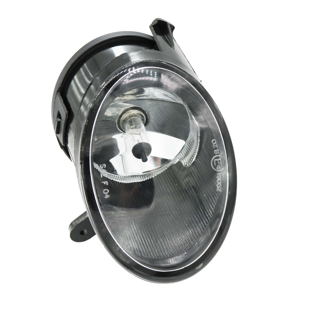 For Audi A6 C6 2005 2006 2007 2008 Car-styling Right Side Front Halogen Fog Light Fog Lamp Assembly With Bulb 2pcs auto right left fog light lamp car styling h11 halogen light 12v 55w bulb assembly for ford fusion estate ju  2002 2008