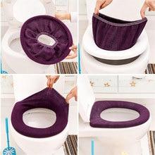 ISHOWTIENDA, теплый мягкий чехол для унитаза, накладка на сиденье, ванна унитаз, протектор, аксессуары для ванной комнаты, набор, чехол для унитаза, коврик