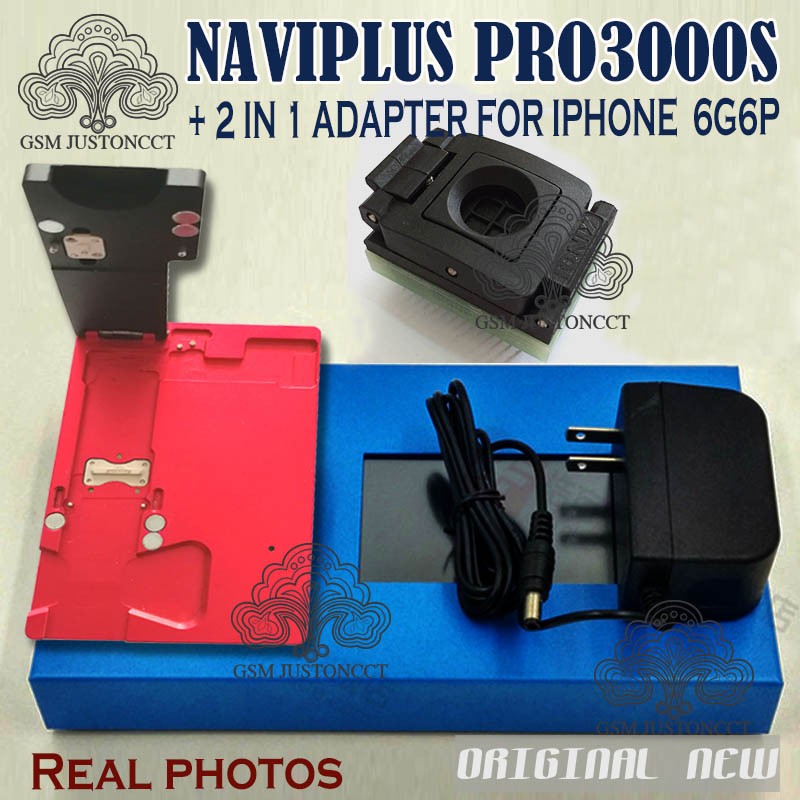 Pro 3000S NAND Flash Repair Module Adapter Naviplus Pro3000s NAND Repair Tool No Need  Remove NAND For IPhone 6 6P