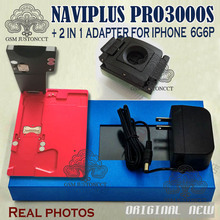 Pro 3000S NAND Flash Repair Module Adapter Naviplus Pro3000s NAND Repair Tool No Need  Remove NAND For iPhone 6 6P ipad mini2 hdd disk nand fixture repair tool for refresh the system nand and re write sn data recovery with directly assembly