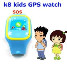 Hight quality k8 hot Kids gps watch GPS tracker smart bracelet smart watch for kids smartwatch