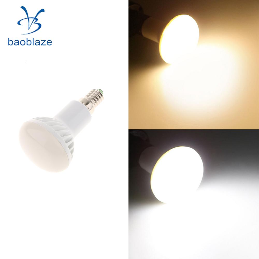 Baoblaze 7W Energy Saving LED Light Bulbs Globe Lightbulb Globe Lamp White / Warm White