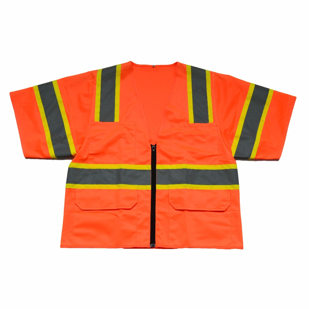 High Visibility Workwear Reflective Vest Reflective T-Shirt fluorescence yellow high visibility