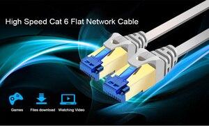 Image 3 - Ethernet kablosu Cat6 Lan kablosu UTP kedi 6 RJ 45 ağ kablosu 1 M 30 M yama kablosu dizüstü yönlendirici RJ45 ağ kablosu