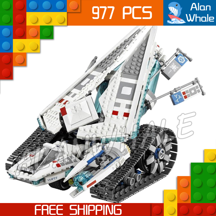 977pcs New Ninja Ice Tank Battle Machine Mech Walker 06061 Model Building Blocks Teenagers Toys Bricks Compatible With lego edtid new high quality small commercial ice machine household ice machine tea milk shop
