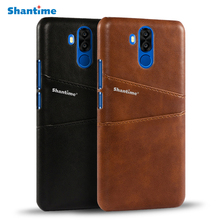 Luxury Vintage Pu Leather Case For Oukitel K6 Case Cover Business Phone Bag Case For Oukitel K6 Wallet Card Slots Case