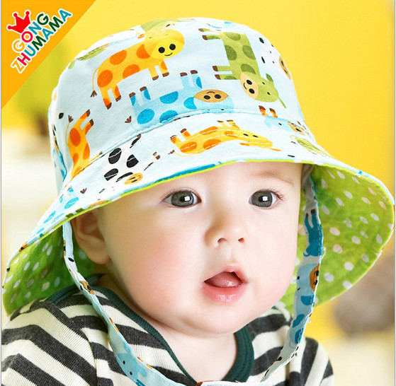 2015 New Arrival Very Cute Baby Hats Baby Fashion Sun Hat Baby 3 24