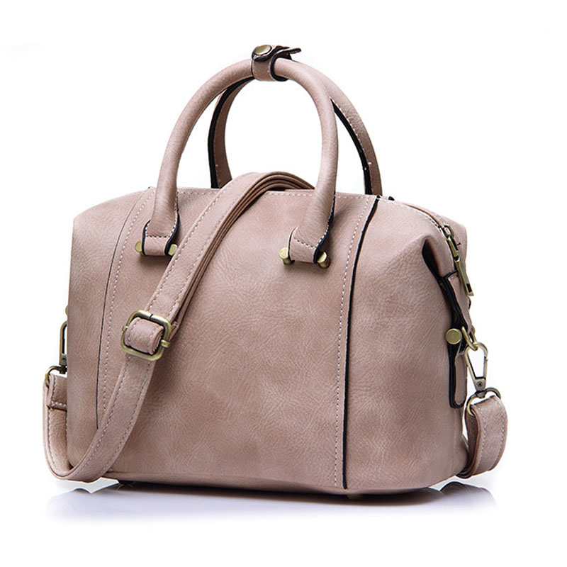 ФОТО 2016 Winter New High Quality Designer Women Boston Bag Imitation Leather Bag Women Crossbody Bag Famous Black Ladies Totes