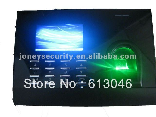 3'' Color Display biometric fingerprint Attendance machine