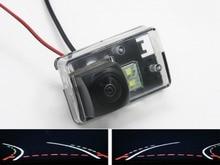 цена на Trajectory Tracks Fisheye Lens 1080P Car Rear view Camera for Peugeot 206 207 306 307 Sedan 308 406 407 5008 Partner Tepee