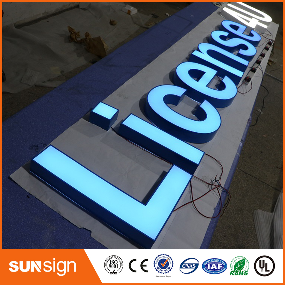 Store Front Lit Led Channel Letter Sign