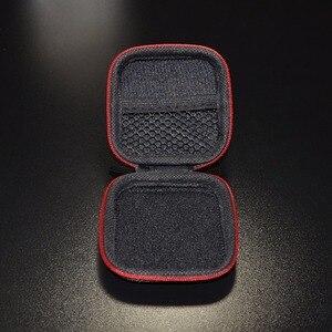 Image 5 - ポータブルミニイヤホンケースボックスハードevaヘッドホン収納袋earpodインナーイヤー型ワイヤレスbluetoothイヤホンアクセサリー