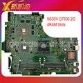 Para asus n53sv n53sn n53sm n53sc original placa madre del ordenador portátil (mainboard) nvidia gt630m 4 ranuras de memoria ram rev 2.0 probado bien
