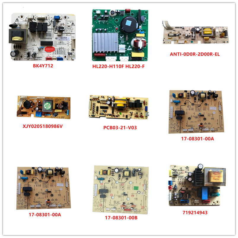 BK4Y712| HL220-F| ANTI-0D0R-2D00R-EL| XJY0205180986V| PCB03-21-V03| 17-08301-00A/00B| 17-02307-00A/00B/00C/00D| 719214943 Used