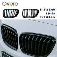 Overe Car Front Bumper Racing Grills Grilles For BMW 2 Series F22 F23 F87 M2 220i 228i M235i M240i M Performance Accessories Racing Grills     -