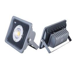 Gorący sprzedawanie ip65 wodoodporny zewnętrzny LED reflektor zielony czerwony 20W 30W 40W 80W COB lampa projektorowa LED światło halogenowe 4000K 6000K 3000K