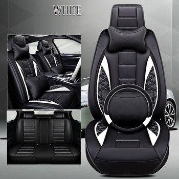 Car seat cover leather for dodge grand caravan intrepid journey nitro ram 1500 stratus of 2018 2017 2016 2015