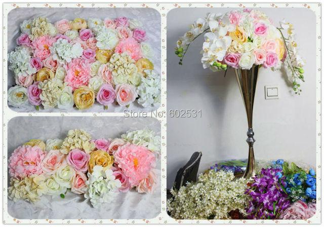 Aliexpresscom Buy Pink series artificial rose wedding flower