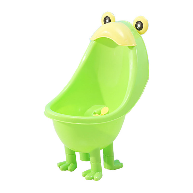 Baby Wc Potties Netter Frosch Topf Wand Urinale Toilette Tragbare Training Boy Kinder Wc Dicht kinder Töpfchen WC