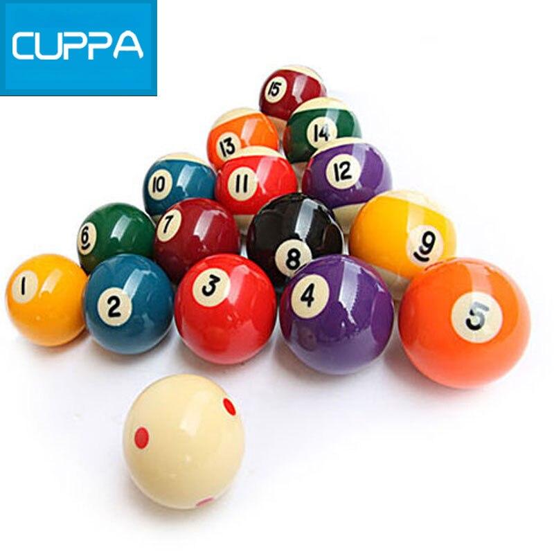 2016 New Cuppa Pool Table Billiard Balls Set 52mm/57mm Billiards  Accessories China(China