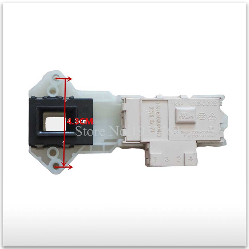 1pcs new for LG washing machine parts time delay switch door 6601EN1003B WD-N80105 T10175 3 plug door lock original new for lg drum washing machine door hinge 42741701 1pcs