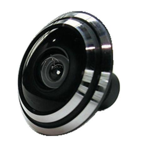 1/3 polegadas Mini Lente 1.7mm Ultra Wide Angle (Visão Olho de Peixe) Para CCTV IR HD câmera