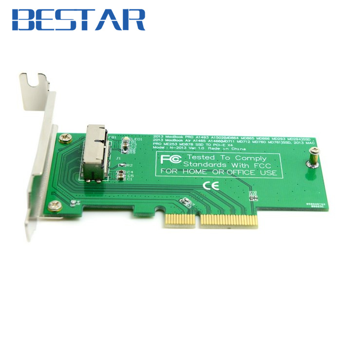 PCIE PCI-Express PCI-E PCI Express to for 2013 2014 2015 Apple Macbook Pro Air SSD Convert Card for A1493 A1502 A1465 A1466 pci