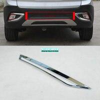 Car styling Brake Light Decorative Cover trim For JAC S3 2014 2015 car Accessories Abs Chrome 1pcs automobiles accessory