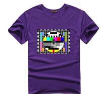 Cool The Big Bang Theory T Shirts Sheldon T Shirt TV No Signal Funny Design Casual