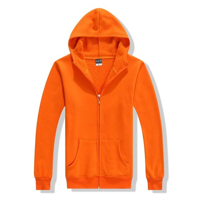 package plus thick velvet hooded Sweatshirts men's long-sleeved cardigan jacket class service overalls men