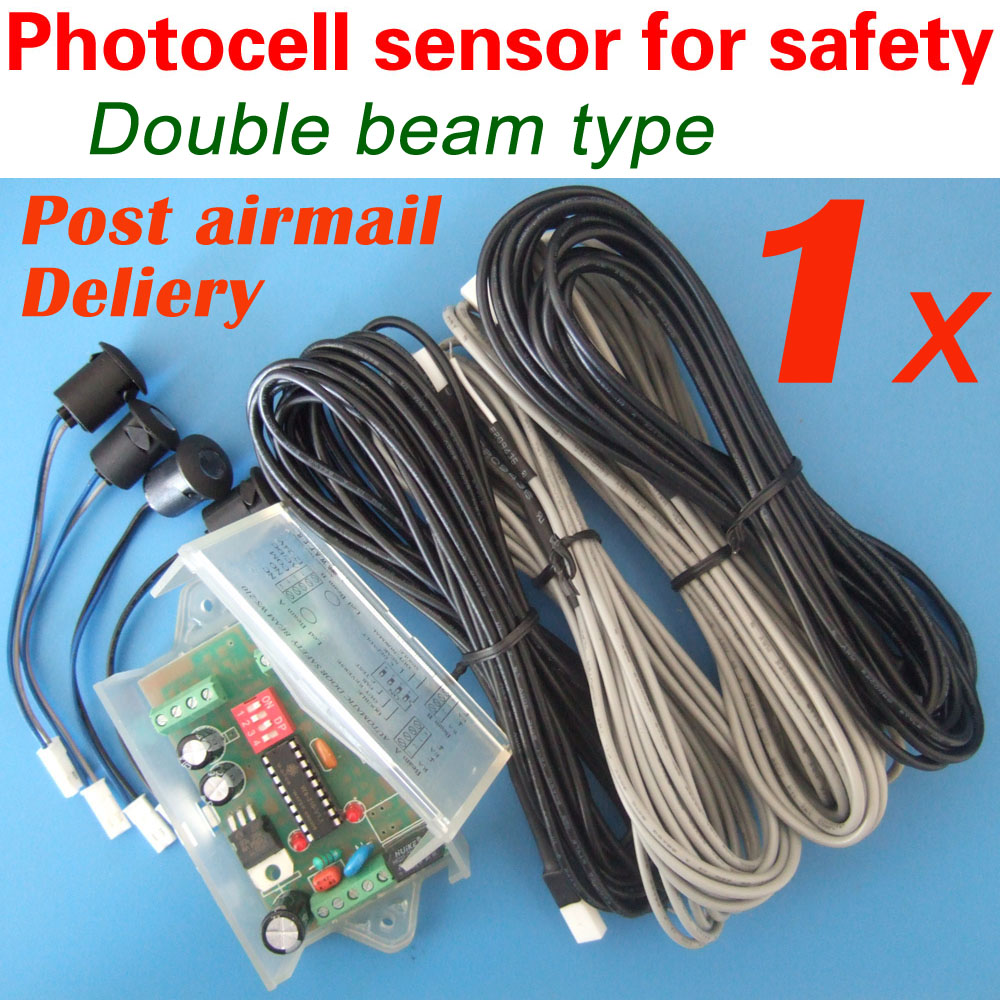 ФОТО Double beam type WAFER safety beam sensor for automatic sliding door safety protection