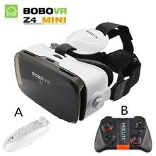 Original BOBOVR Z4 mini bobo vr Virtual Reality goggles 3D Glasses google cardboard vr box 2.0 for 4.0-6.0 inch Smartphone