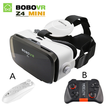Original BOBOVR Z4 mini bobo vr Virtual Reality goggles 3D Glasses google cardboard vr box 2.0 for 4.0-6.0 inch Smartphone