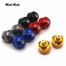 MAIKAI For YAMAHA YZF R15 V3 V3.0 VVA 2017 2018 2019 Motorcycle Accessories Handle Bar Caps (use with standard Bar)