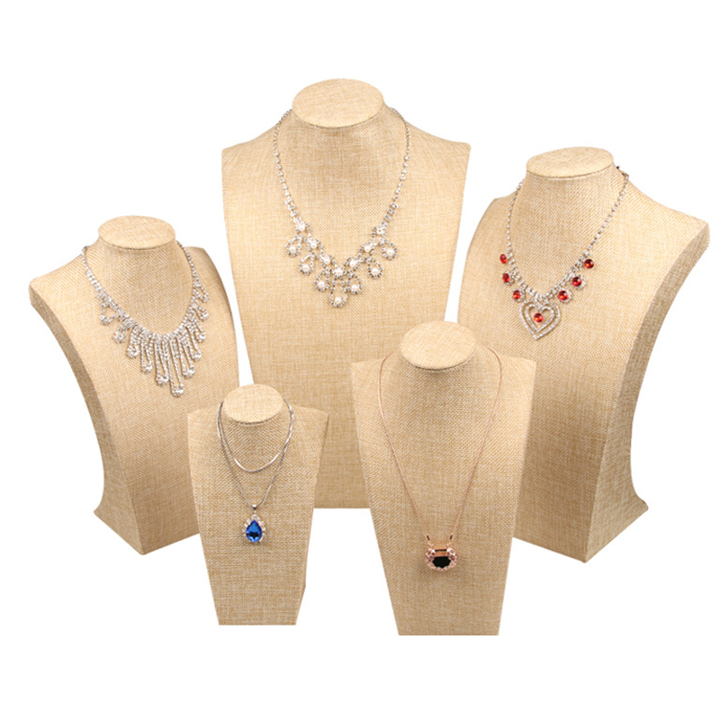 Mordoa linen Jewelry Display Jewelry Organizer Jewelry Stand