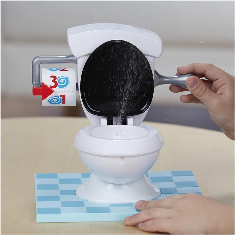 Kids Fun Game Toys Practical Jokes Toys Toilet Base Tank