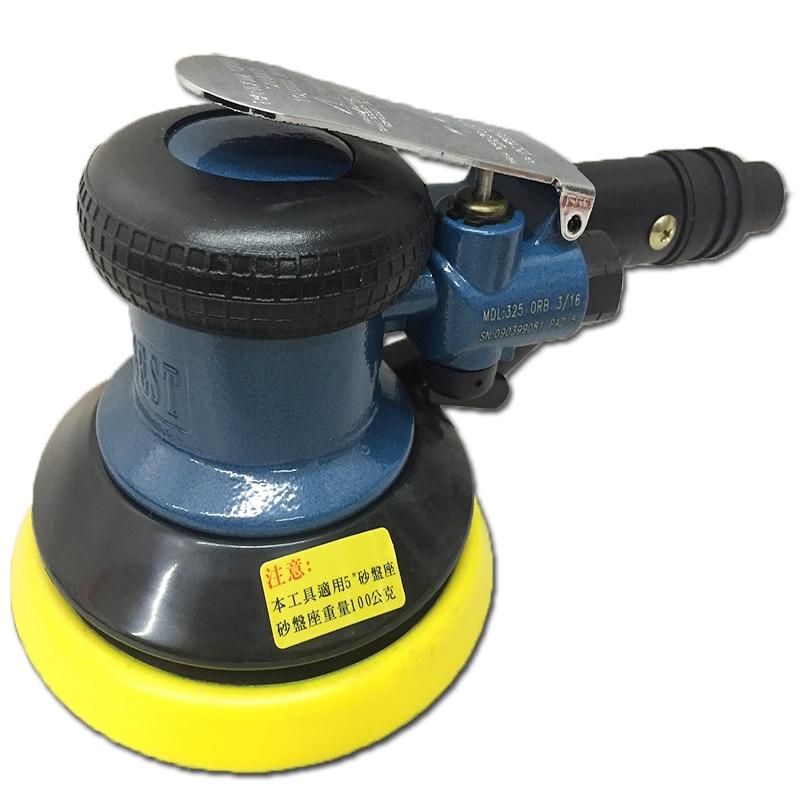цена на Pneumatic tools 5 inch pneumatic sander pneumatic polishing machine vacuum RG-325DL vacuum polishing machine