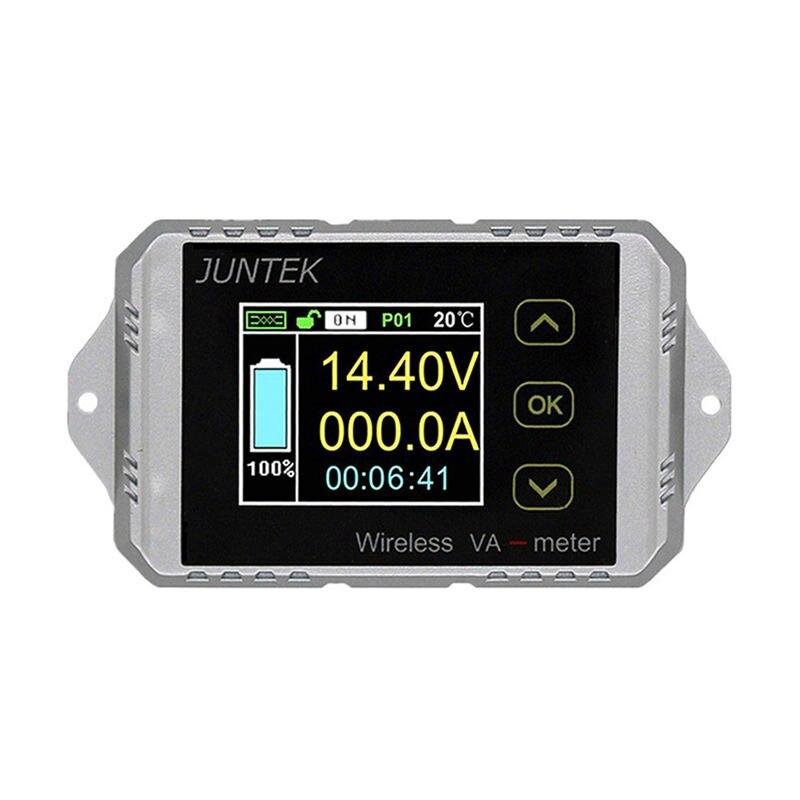 Juntek Vat4300 400 V 300A compteur de tension et de courant sans fil surveillance de batterie de voiture 12 V 24 V 48 V compteur de Coulomb Va Mete