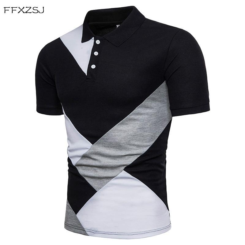 FFXZSJ 2018 Novi slog moška polo majica s kratkimi rokavi za - Moška oblačila