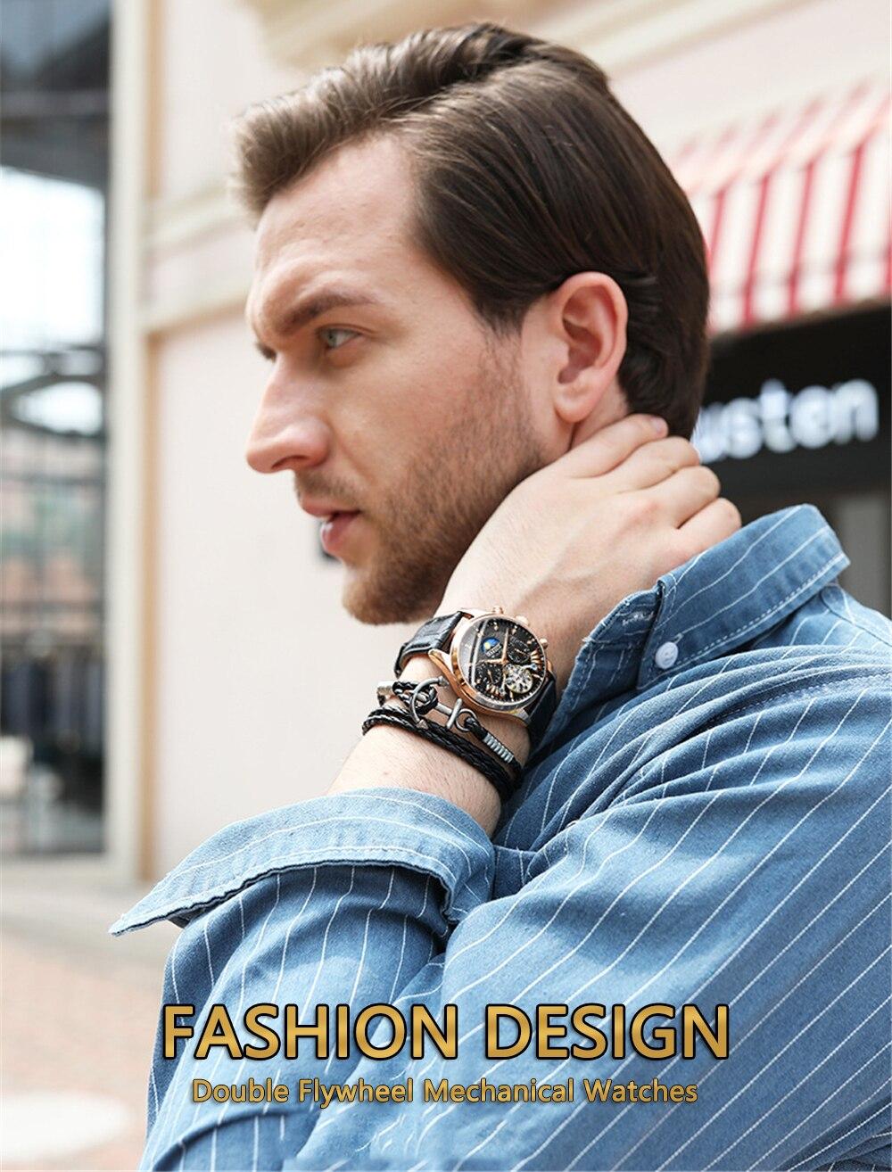 HTB1M SDXLfsK1RjSszbq6AqBXXaa HAIQIN luxury Automatic Mechanical Men Watch classic Business Watch men Tourbillon Waterproof Male Wristwatch Relogio Masculino
