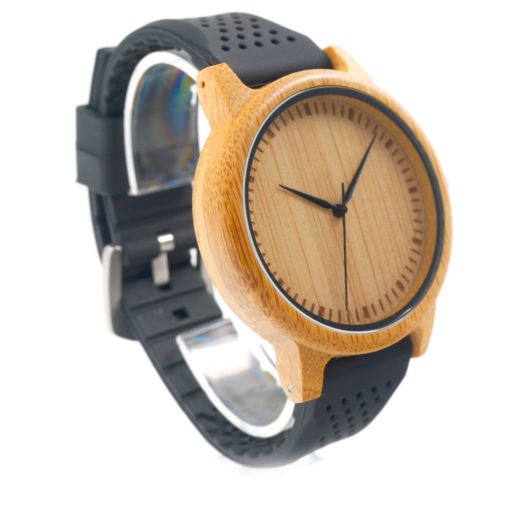 BOBO BIRD V-B07 Nueva moda para hombre de cuarzo analógico reloj de - Relojes para hombres - foto 6