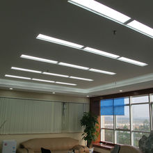 Free shipping 2/3/4/6/8pcs/pack 24w 300×600 Led panel light 110/220 dimmable Sliver frame flat lamp FOR kitchen bathroom Office
